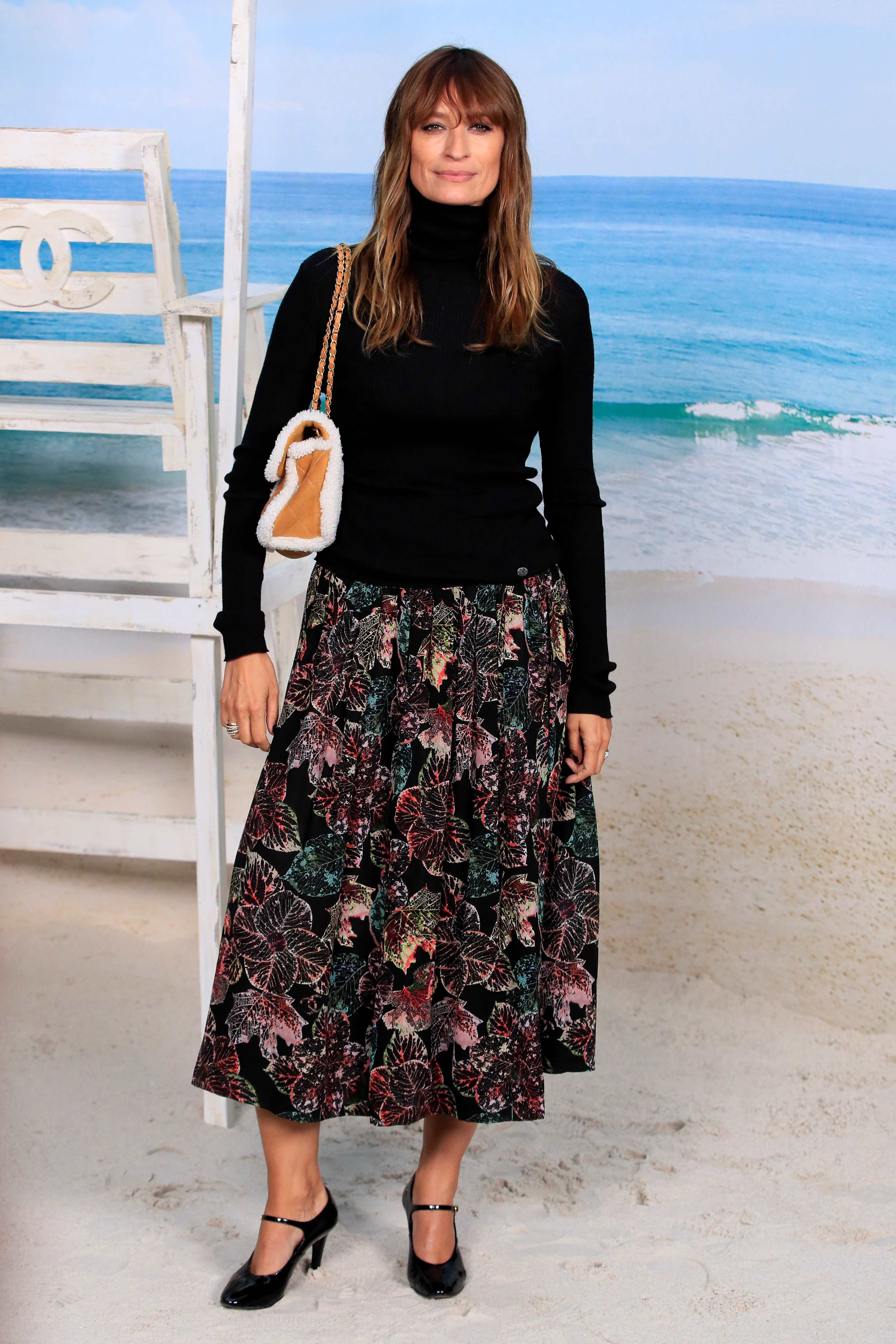 Chanel – front row