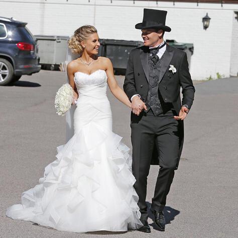 6efe47d0 FANT KJOLEN I OSLO: Louise Angelica Riise giftet seg med John Arne Riise i  en