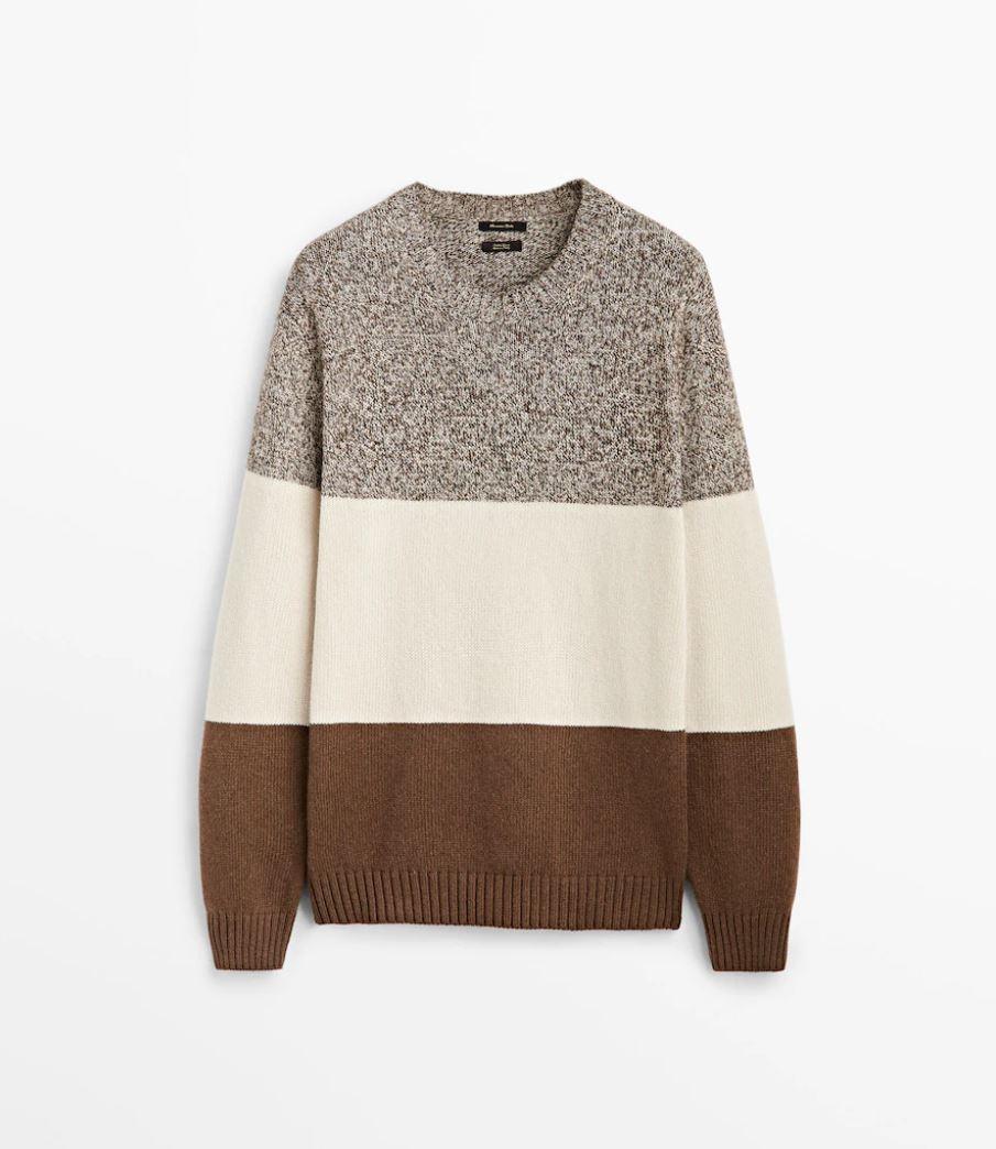 Flerfarget genser