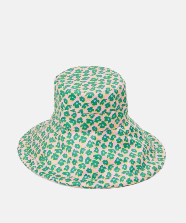 Mønstrete, fargerik hatt