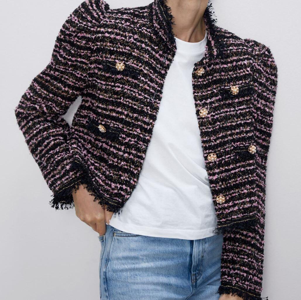 Tweedjakke 1