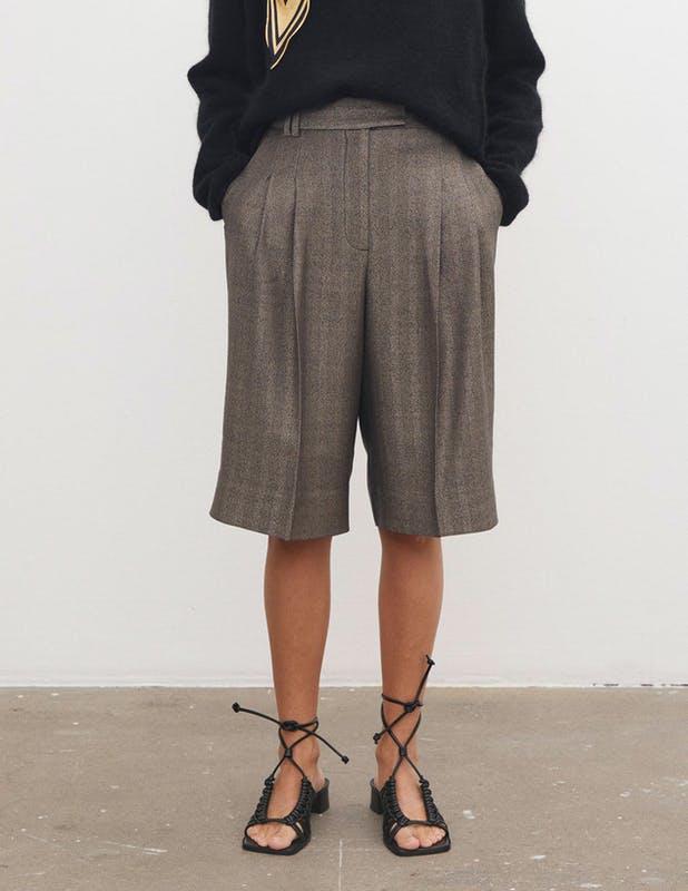 Lang, rutete shorts