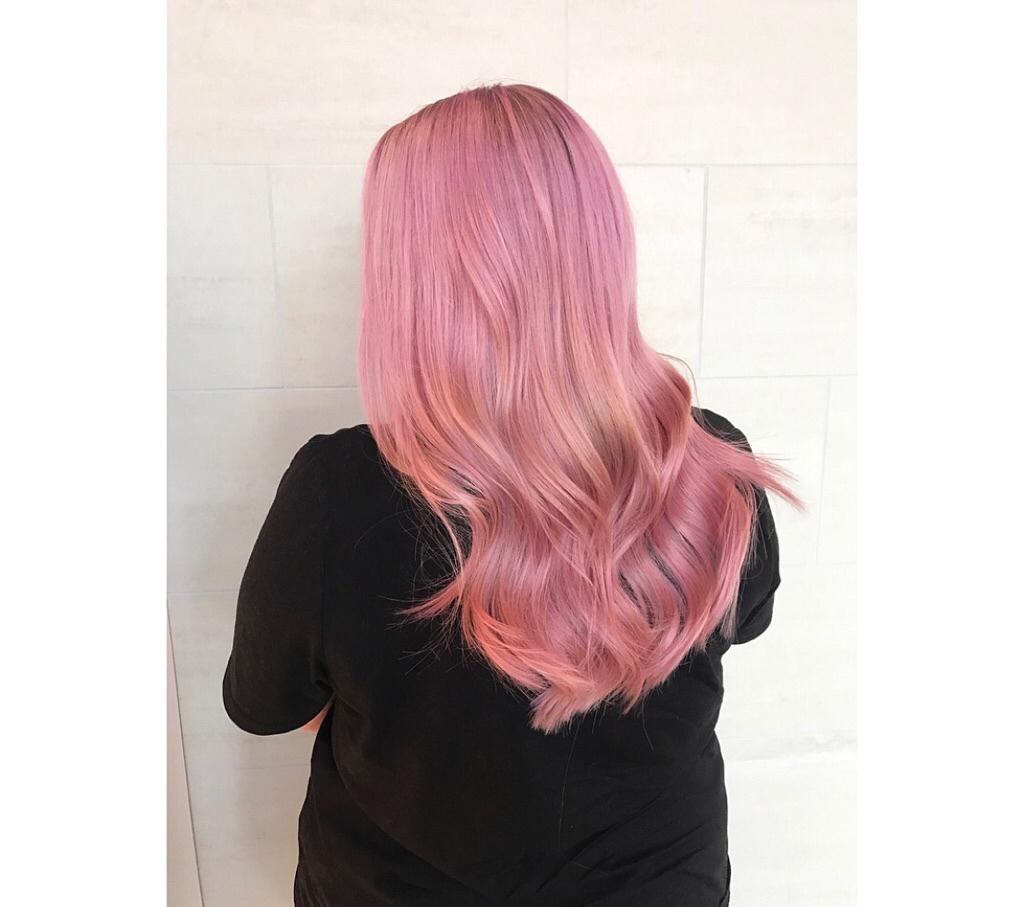 Rosa hår 2