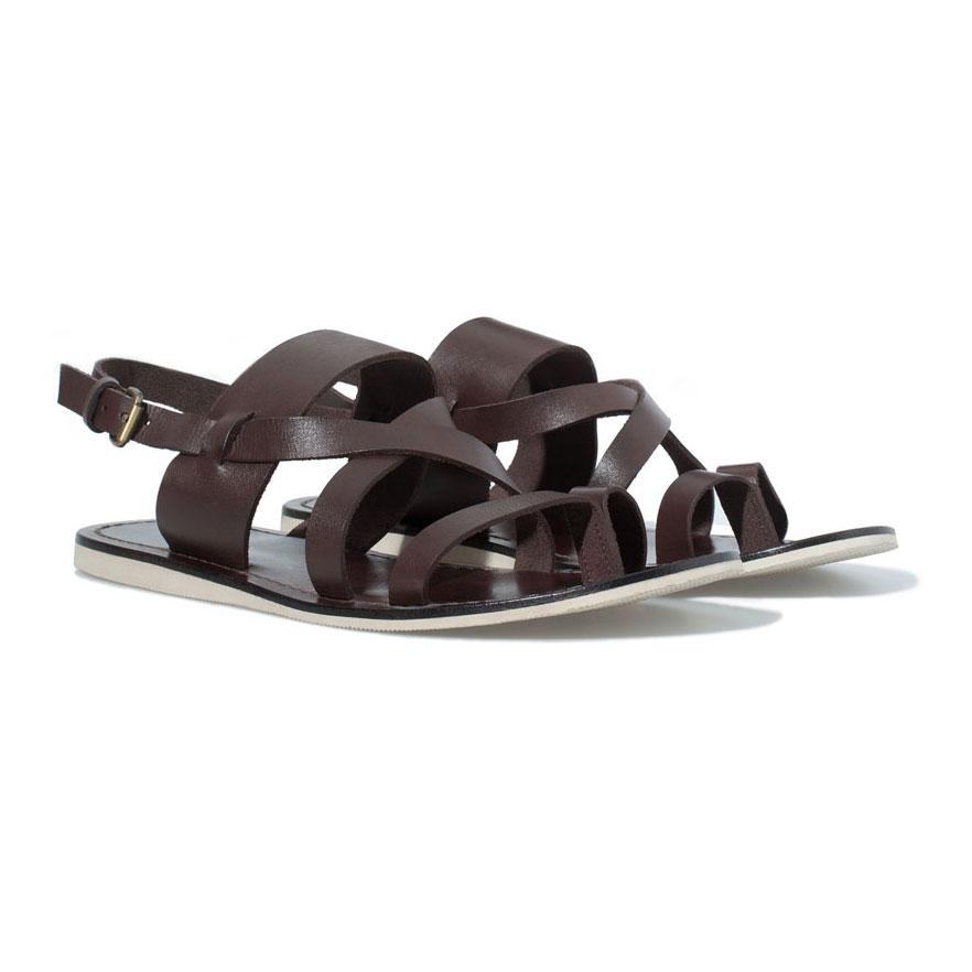 Sandaler for menn topp