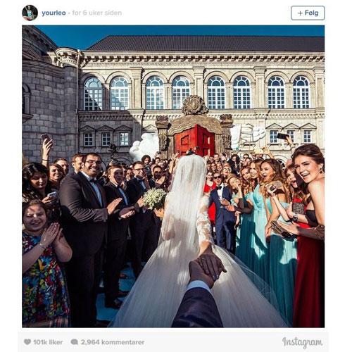 Instagram bryllup