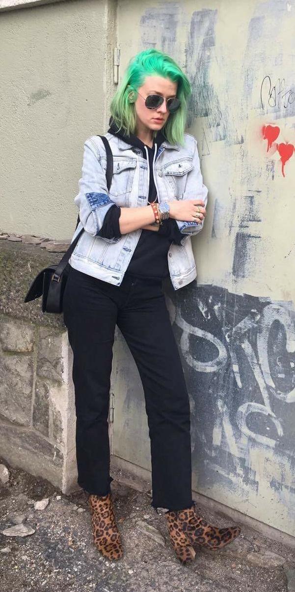 Elise jeans-sak