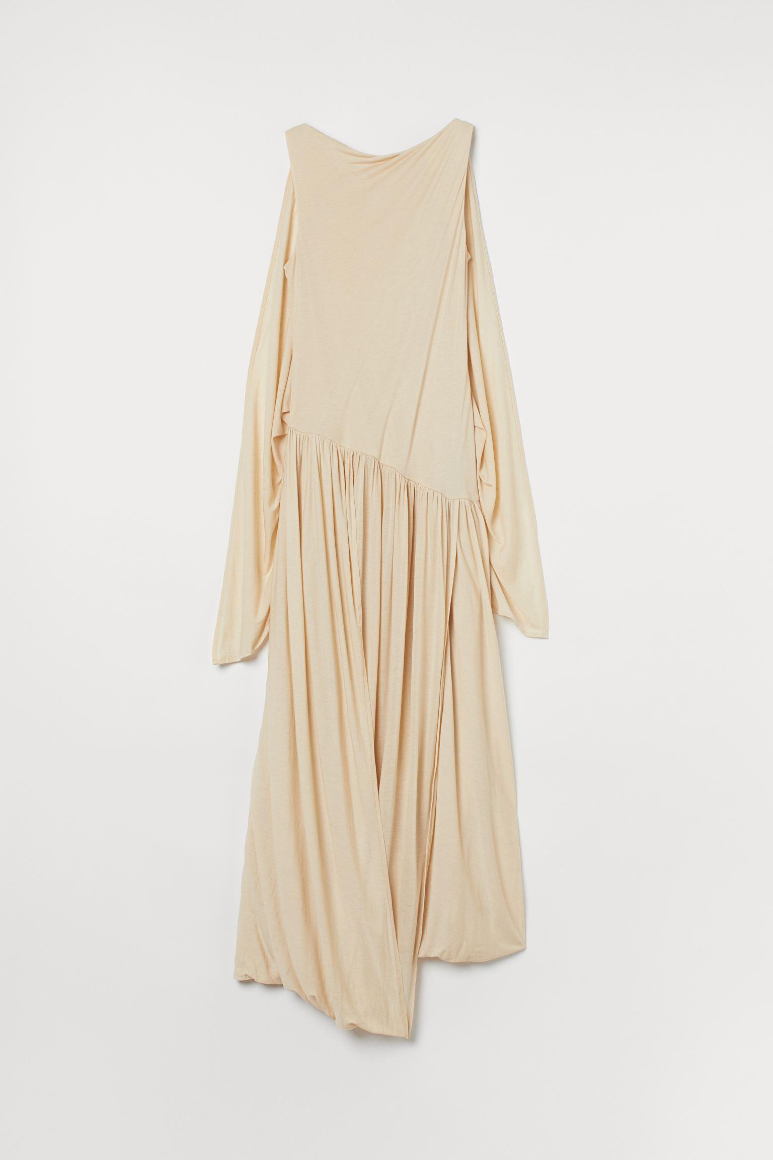 Drapert kjole