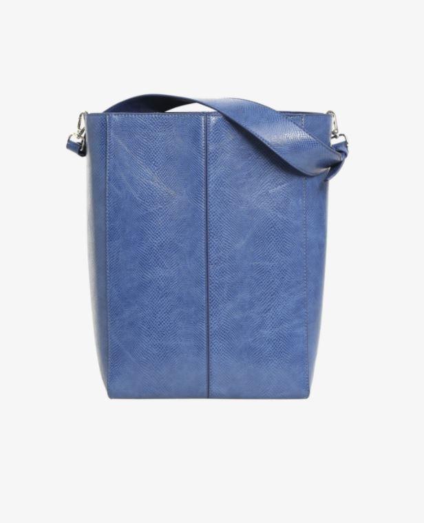 Blå tote-bag