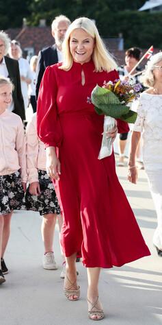 a57ab5bc Kronprinsesse Mette-Marit i Kristiansand. Foto: Lise Åserud/NTB scanpix