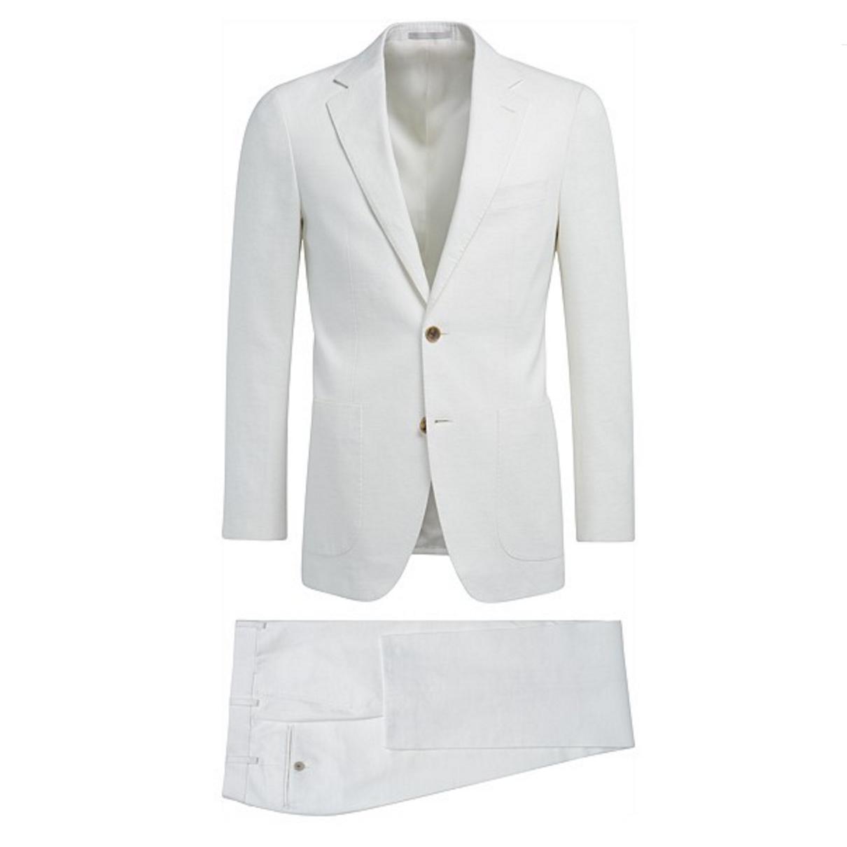 Hvit dress