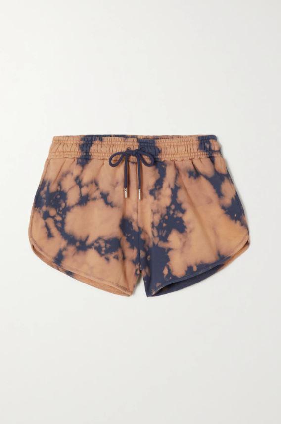 Tie dye-shorts