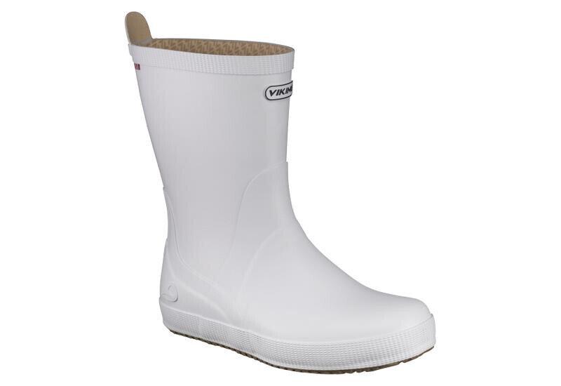 Klassiske hvite støvler
