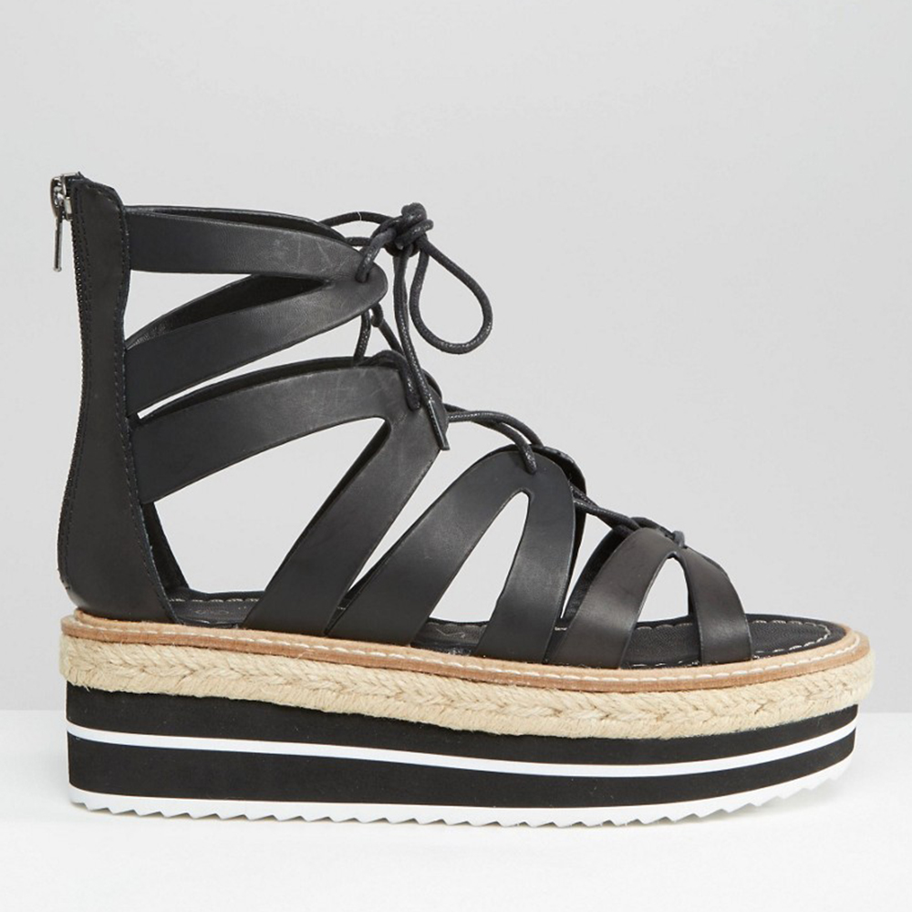 Sandaler lace up