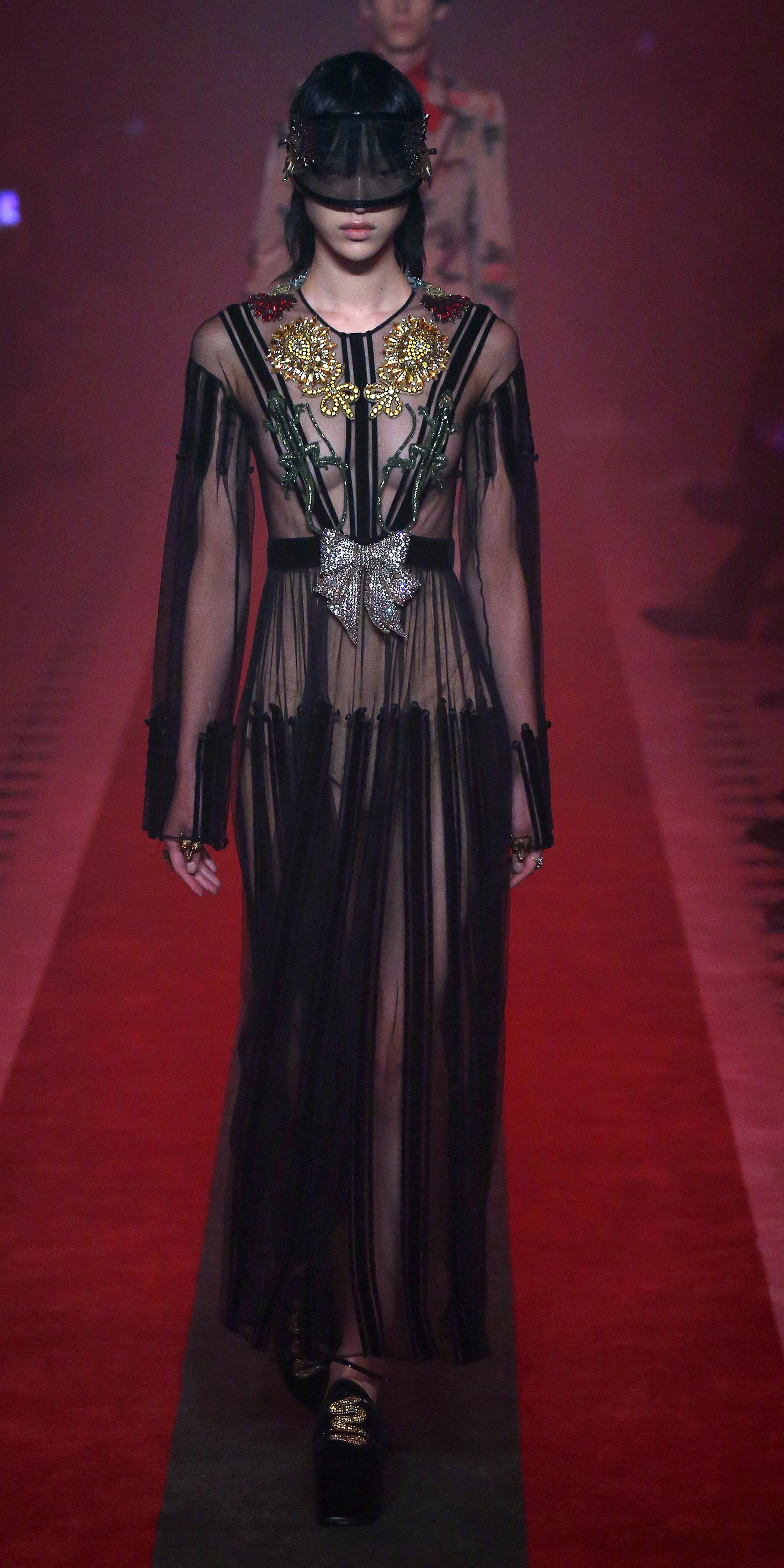 Gucci kjoler ss17