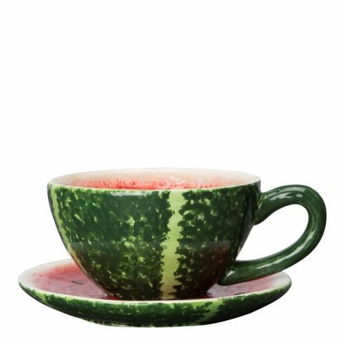 sitron og vannmelon