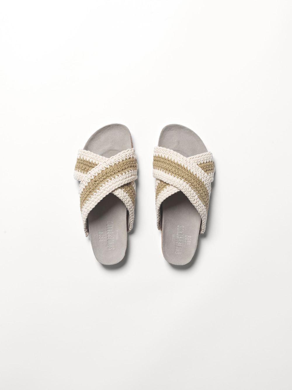 Beige sandaler