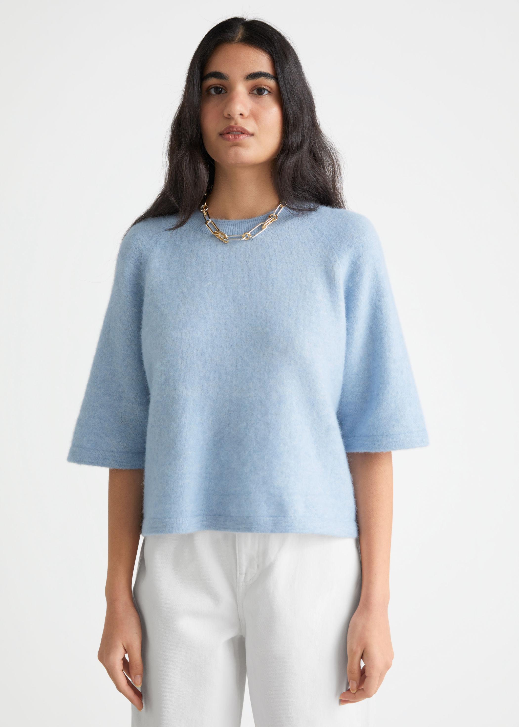 T-skjorte med alpakka
