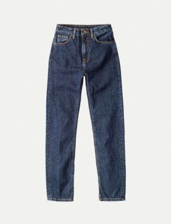 Mørkeblå jeans