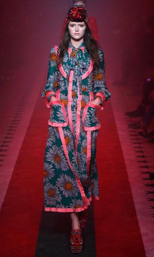 Mønstrete kjoler