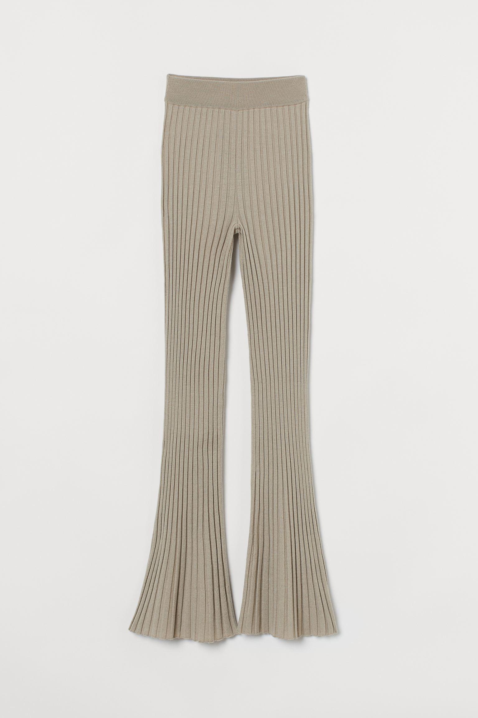 Ribbestrikket bukse