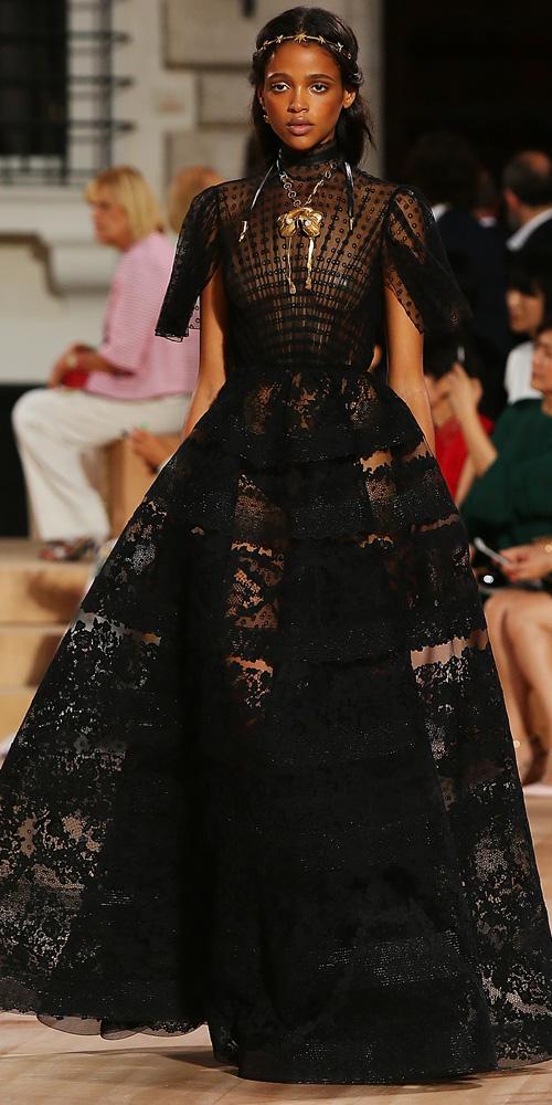 Valentino haute couture fall/winter 2015 gull