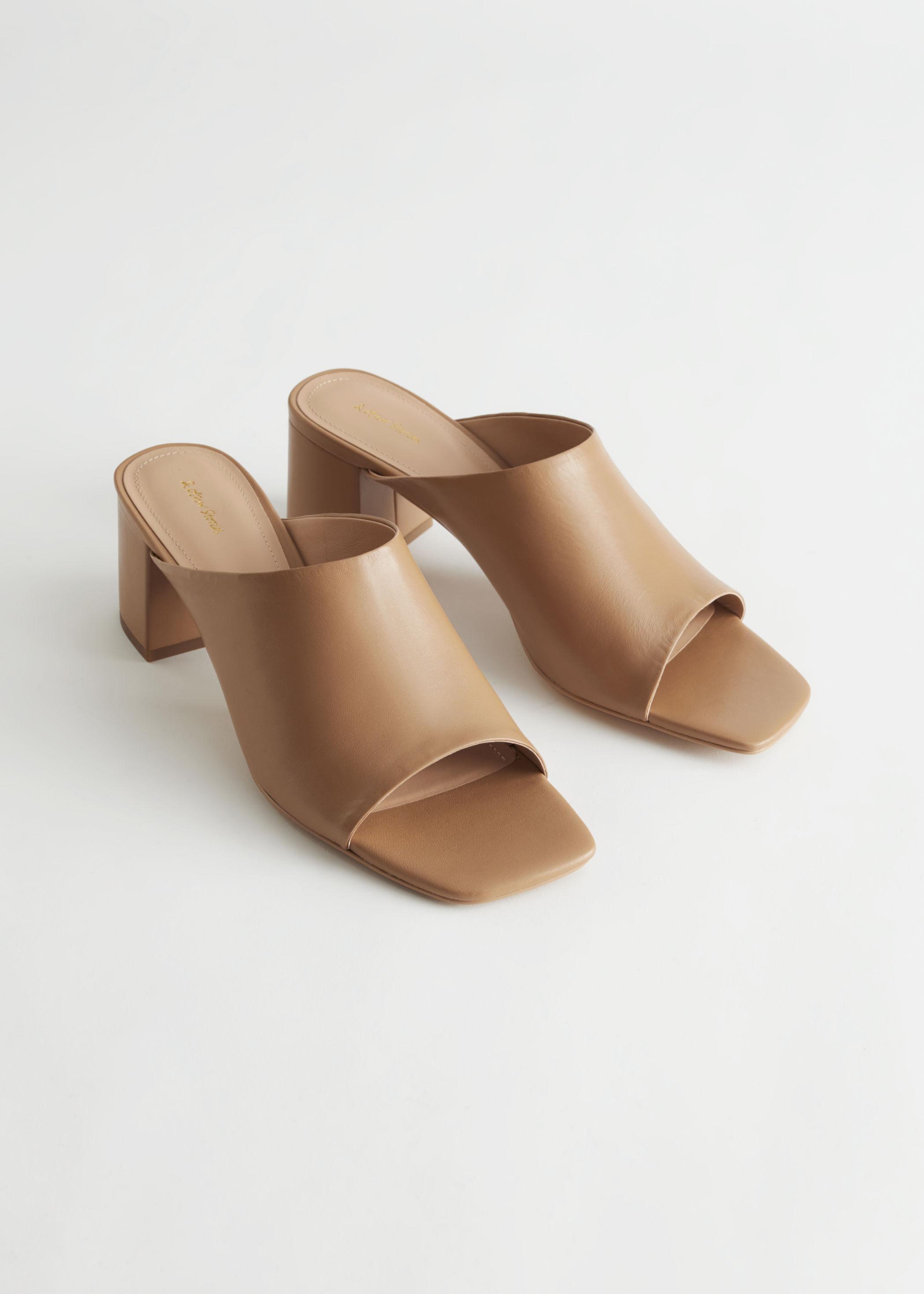 Sandaler med hæl