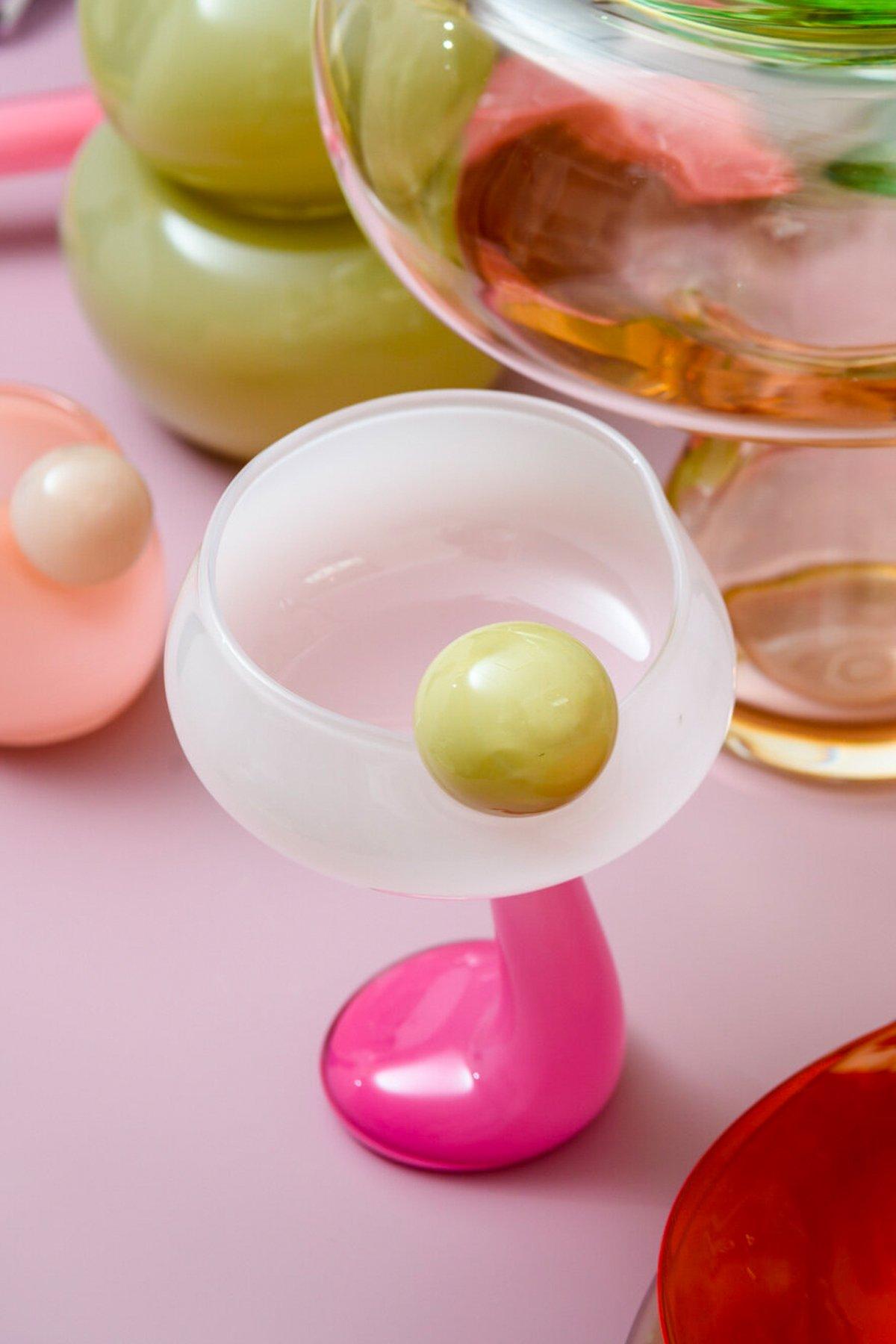 Glass i lekre farger