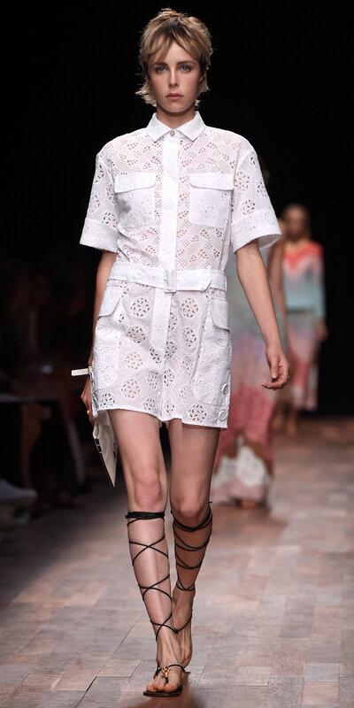 skjortekjoler catwalk