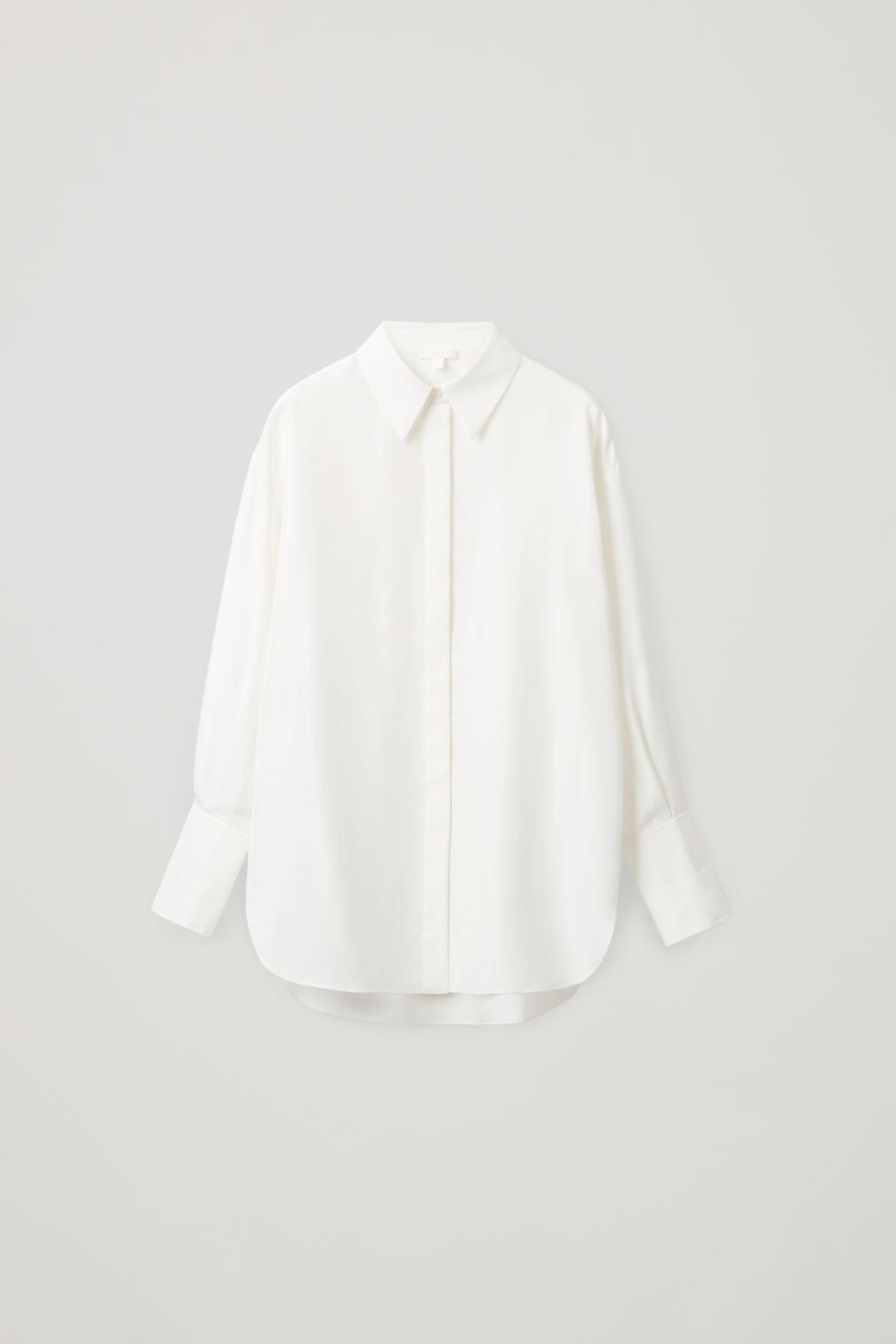 Oversized skjorte