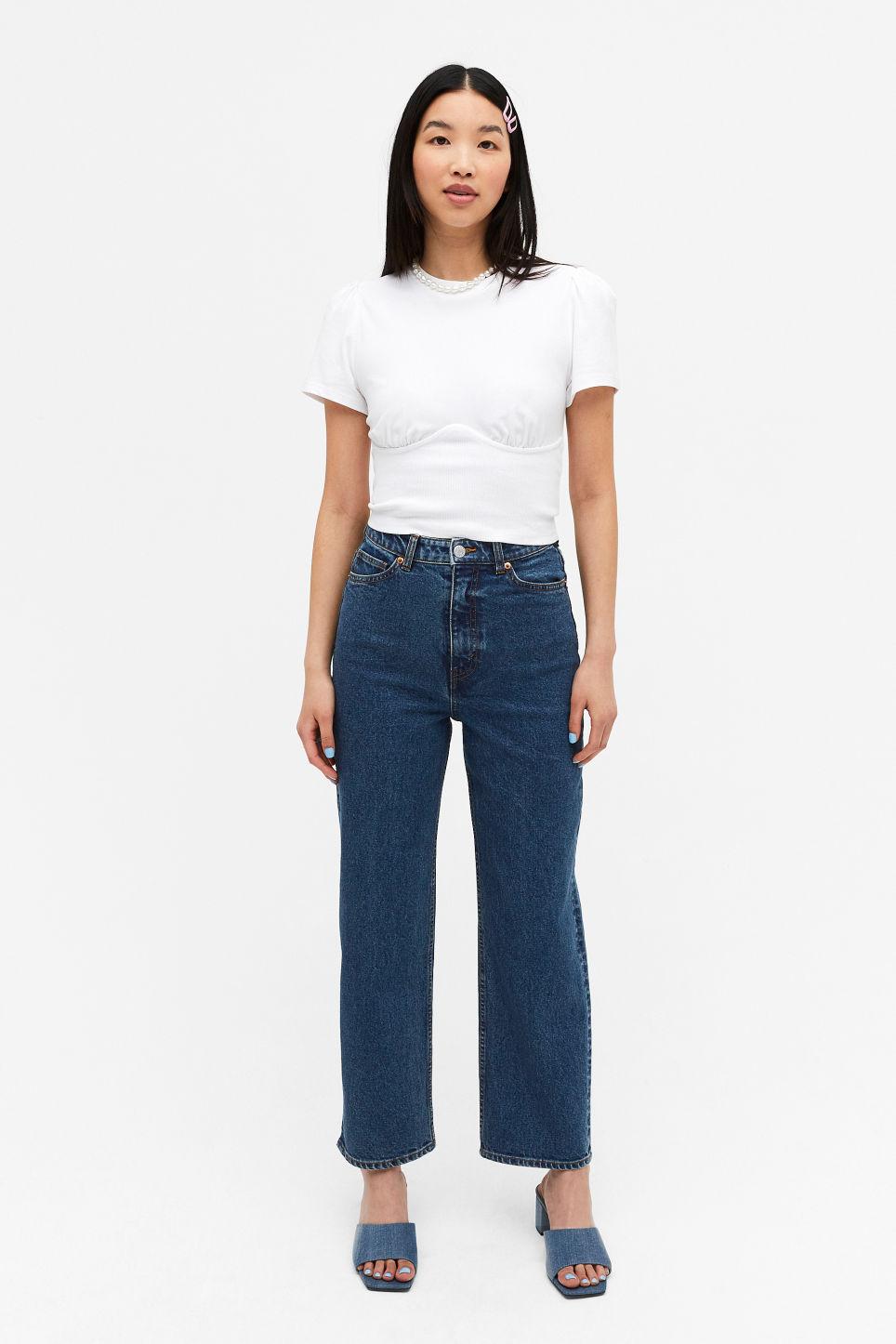 Blå jeans uten dilldall