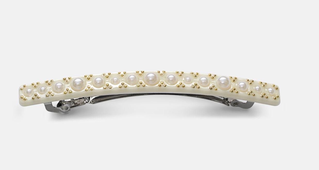 Hårspenne med perler