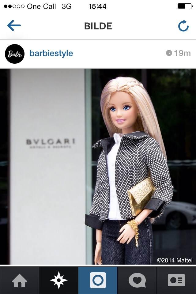 Barbie insta