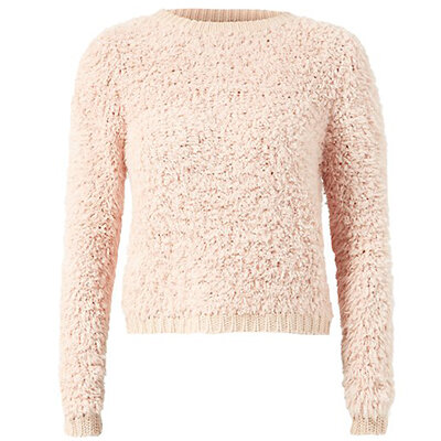 rosa strikkegenser