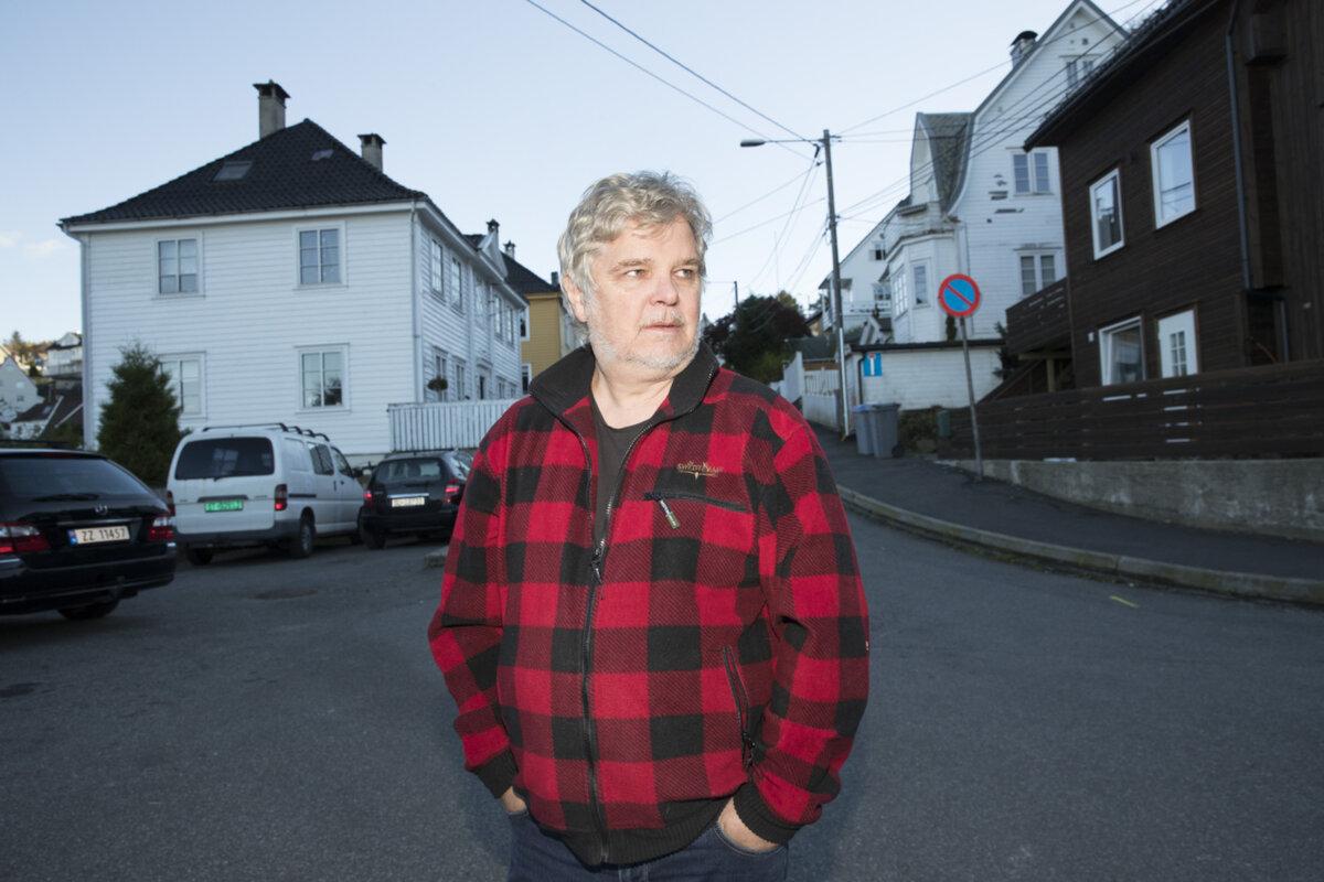 Jan-Henrik Haugsøen er nestleder i Damsgård vel, og oppgitt over politiet.