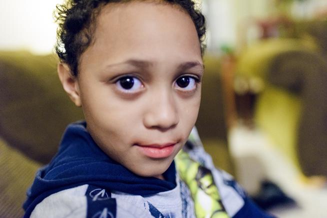 <p>REDDET AV FORSKNING: Kashaun Lawhorn (7) ble behandlet med genmedisin mot kreft og er i dag helt frisk. Han er blant flere barn som har deltatt på en klinisk studie i Philadelphia.</p>