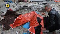 Skulle flykte ut av Aleppo - så tok regimets bomber dem