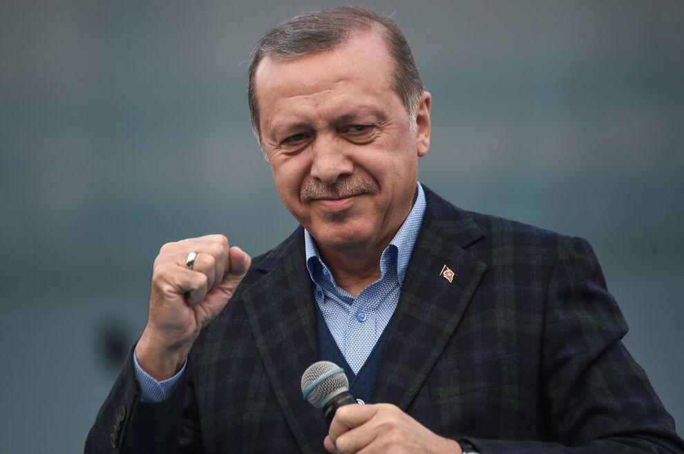 Resultado de imagem para erdogan smile