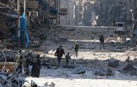 Titusener drevet på flukt fra Aleppo i løpet av to døgn