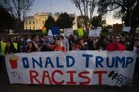 Trump om demonstrantene: – Veldig urettferdig!