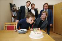 Feiret 1686 milliarder kroner med kake