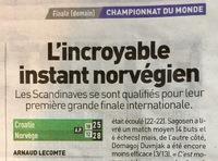 Frankrike hyller håndballgutta: – Norge er mirakuløst