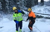 2700 fortsatt strømløse i iskalde Aust-Agder - ned mot 20 minus