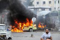 Rundt 150 døde i eksplosjoner i Syria