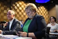 Erna Solberg svarer på Facebook-sensuren