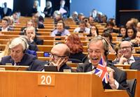EU-presidenten til UKIP:– Det er siste gang dere applauderer her