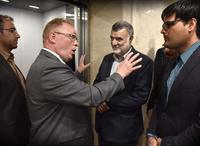 Lakse-Pers fiskeflørt i Iran:– La oss shake hands. Dere er våre venner