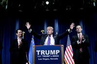 Trumps sønn: Skattetallene viser at han følger lover og regler