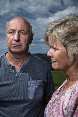 <p>KONFLIKT: Ekteparet Svein og Thoril Fuglerud har i halvannet år kjempet for å få erstatning for skadene på huset.</p>