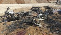 Selvmordsangrep kan ha krevd 42 liv i Syria