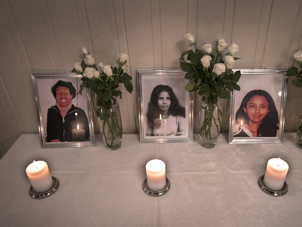 <p /> <p> FUNNED DEATH: Nadia Abdulaziz Adem Ali, Mebrak Solomon and Leah Rebiba Woldemariam (left to right) were found dead in an apartment in Romsås last week. These photos were presented during a memorial Friday. The picture of Mebrak's mother is taken when she was young. </ P>